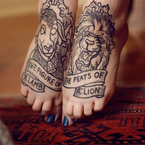 minimum age for tattoo in singapore etching style lamb and lion tattoo tattoos pinterest