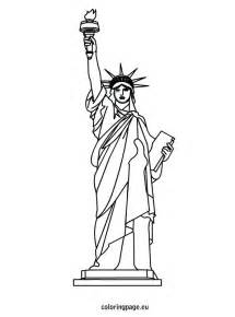 statue of liberty coloring page statue of liberty coloring sheet 4th of july