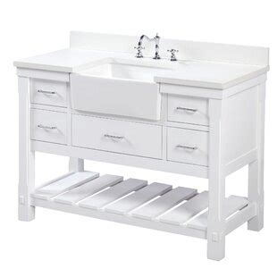 farmhouse bathroom vanities youll love wayfair