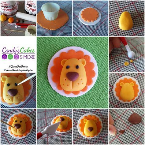 porcelana fria lion cupcake toppers made easy lions porcelana fr 237 a