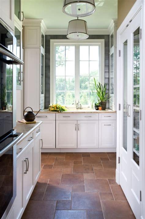 kitchen floor ideas pinterest terracotta tile on pinterest tiled hallway cement tiles