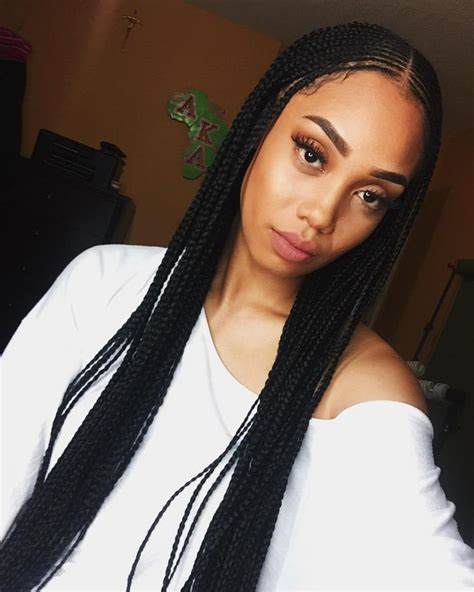 25 best ideas about long box braids on pinterest long
