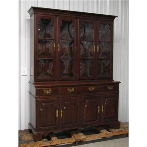 ethan allen china cabinet ethan allen mahogany china cabinet 11 6238