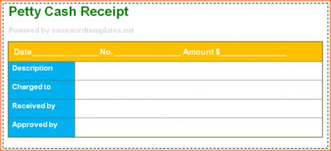 petty receipt voucher template 8 petty receipt bookletemplate org