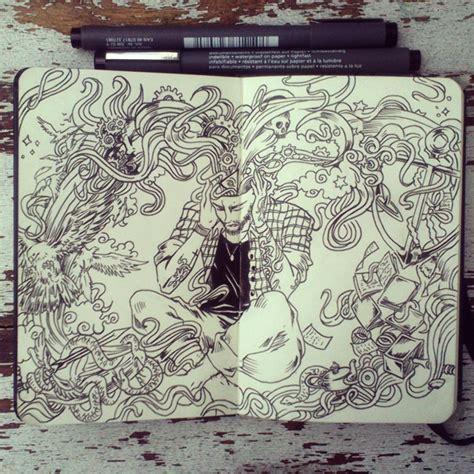 doodle keren abis bukan monyet biasa corat coret curut