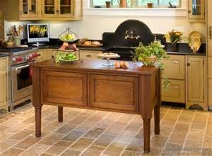 Victorian Kitchen Island by Victorian Kitchens Cabinets Design Ideas And Pictures