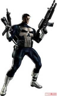 Marvel Punisher Punisher Character Model From Marvel Alliance