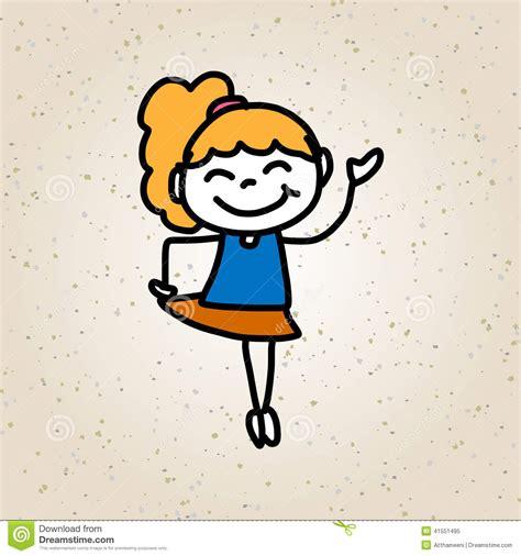 imagenes de niños felices animados ni 241 os felices del personaje de dibujos animados del dibujo