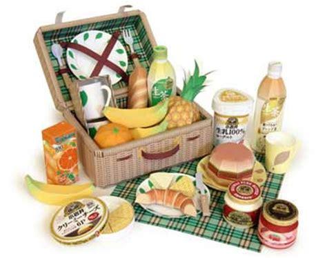 Kirin Papercraft - kirin picnic set papercraft paperkraft net free