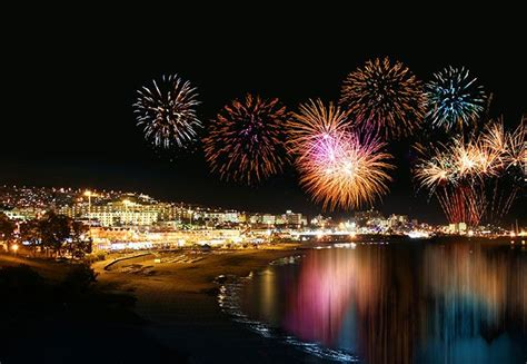 tenerife at new year new year s tenerife canary islands spain