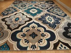 blue and brown area rug best 25 blue area rugs ideas on area rugs