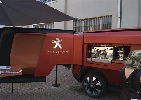 food truck design generator peugeot food truck puts the restaurant on wheels for world