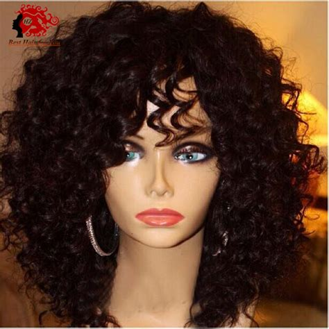 women of color curly full hair weaves with bangs best lace front wigs youtube colorful cheap wigs