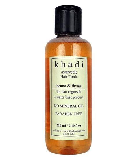 Hair Tonic Herbal 210ml Termurah buy khadi ayurvedic hair regrowth tonic henna thyme