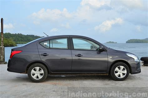 nissan sunny 2014 2014 nissan sunny facelift petrol cvt review indian