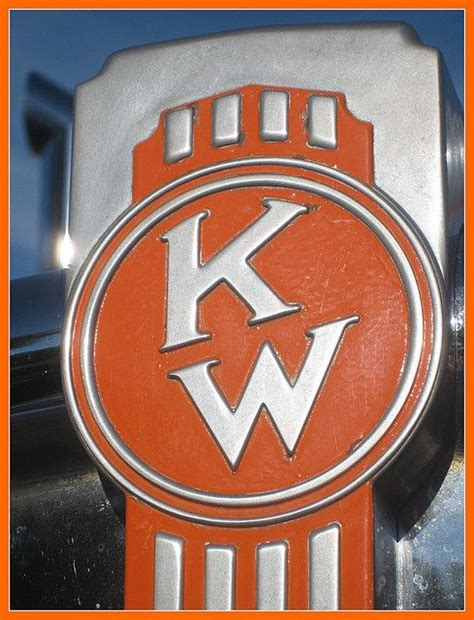 kenworth emblem kenworth trucks cool stuff initials