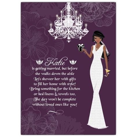 american wedding invitation wording american bridal shower invitations make