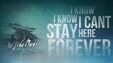 strange comfort the color morale the color morale strange comfort wallpaper by ominousecho