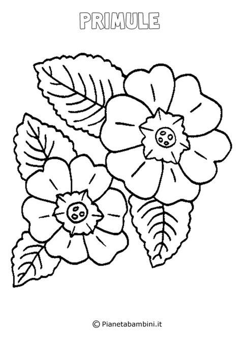 disegni di fiori da stare e colorare disegni di primavera da colorare e stare primavera da