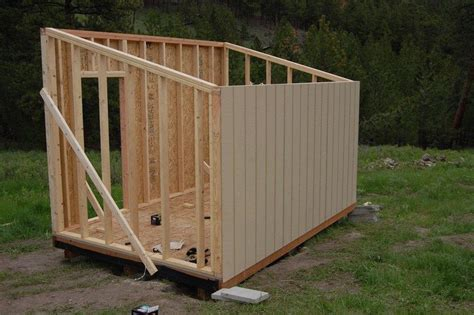inexpensive shed how to build a cheap storage shed garden pinterest