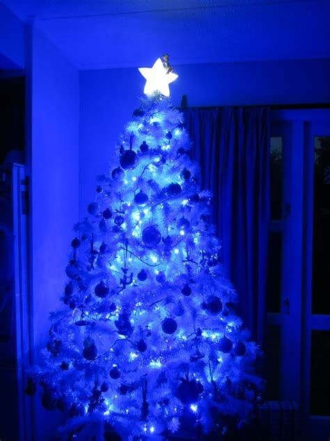 led light design cool blue and white led christmas lights