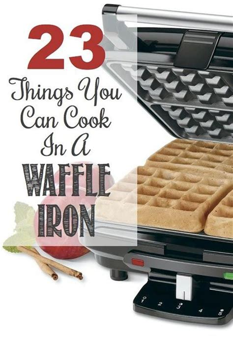 other usues for a waffle maker 23 things you can cook in a waffle iron
