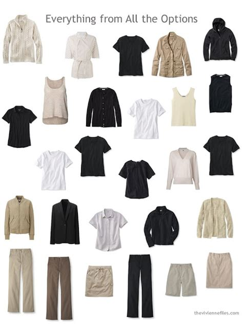 Neutral Capsule Wardrobe by How To Choose Neutral Building Blocks For A Capsule