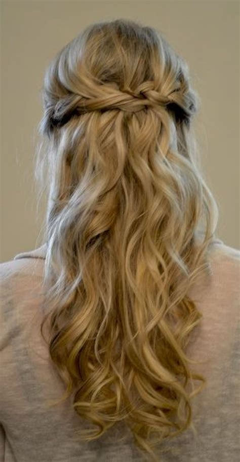 Prom Half Up Half Hairstyles by Prom Hairstyles With Braids And Curls Half Up Half