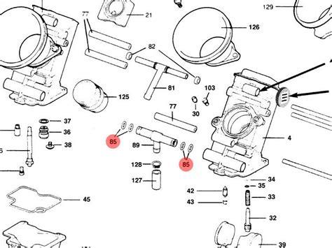 keihin butterfly carburetor diagram keihin fcr 28 33 35 37 39 41 flatslide carburetor parts
