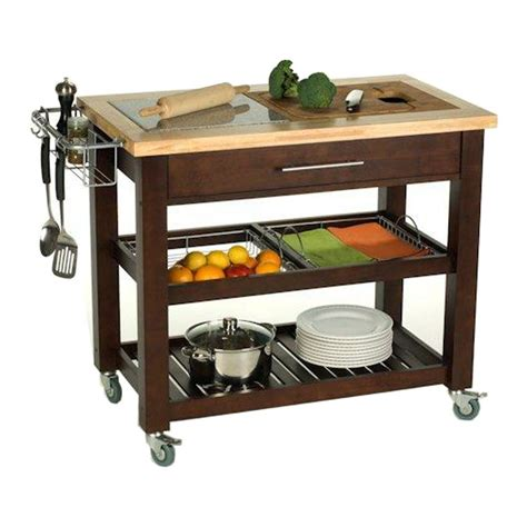 kitchen island carts on wheels movable kitchen islands rolling on wheels mobile