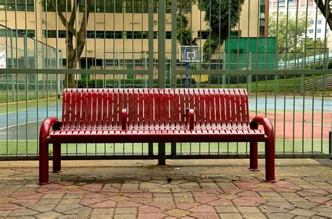 basketball bench wet bench outside basketball court photograph by imran ahmed
