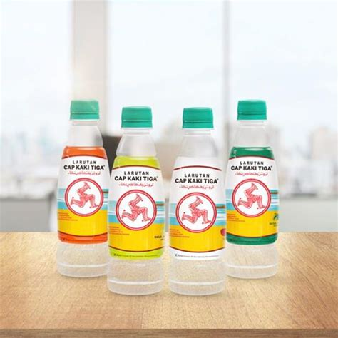 Salep Cap Kaki Tiga new flavoured version of three legs cooling water available in singapore mini me insights