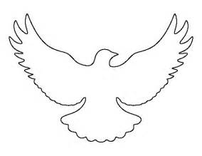 Dove Outline Template by Flying Dove Pattern Use The Printable Outline For Crafts