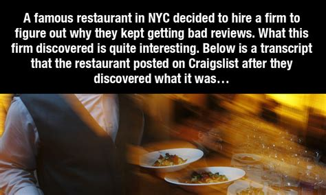 Meme Restaurant Nyc - quot why do new york restaurants suck quot the surprising
