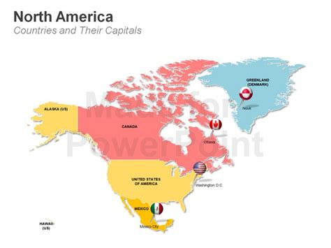 america map countries and capitals south asia america uk and ireland powerpoint maps