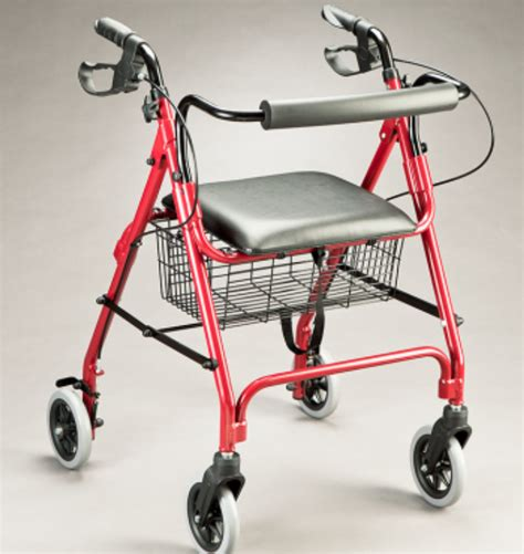 seat walker rollator voyager 2817 for elderly seniors