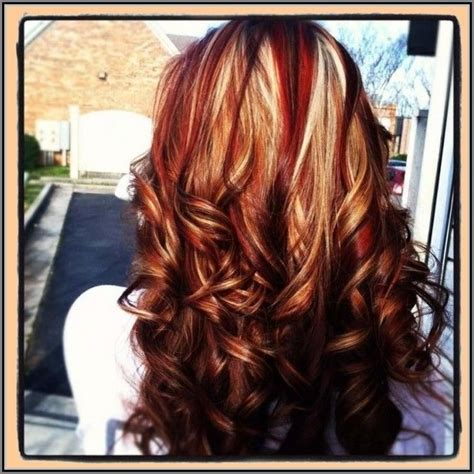 red hair  highlights  lowlights google search