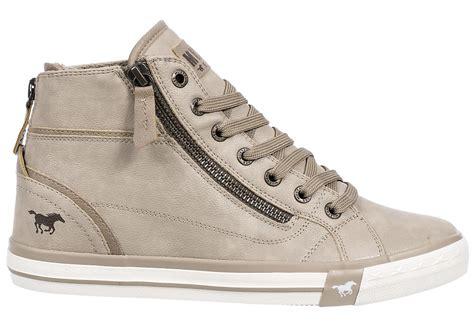 buy sell sneakers mustang shoes damen high top sneakers 1209 502 damenschuhe