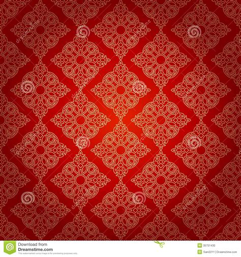 ethnic pattern background seamless pattern in mosaic ethnic style stock photo