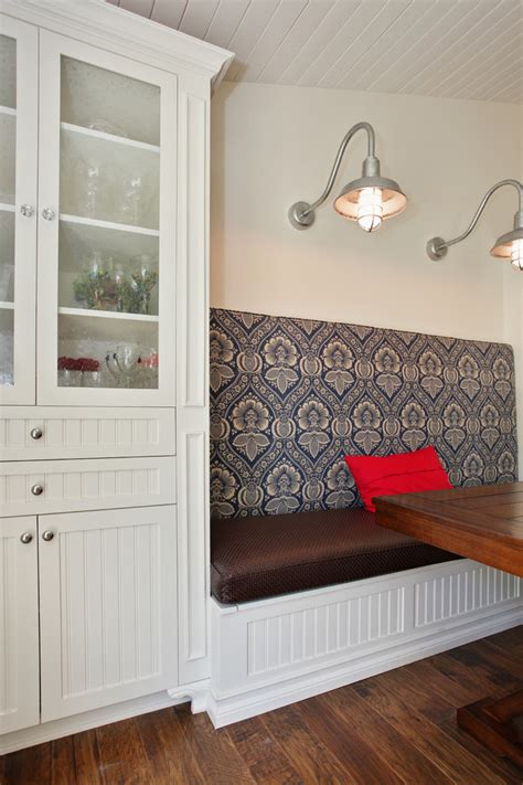 beadboard bench banquette bench dining room contemporary with banquette dining room banquette seating