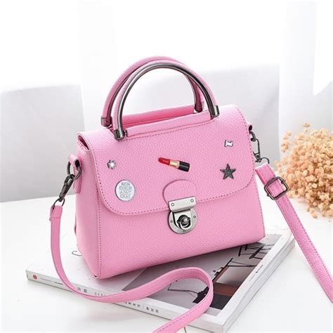 Tas Import Fashion Korea Vsp90 Pink jual b6763 pink tas fashion modis korea grosirimpor