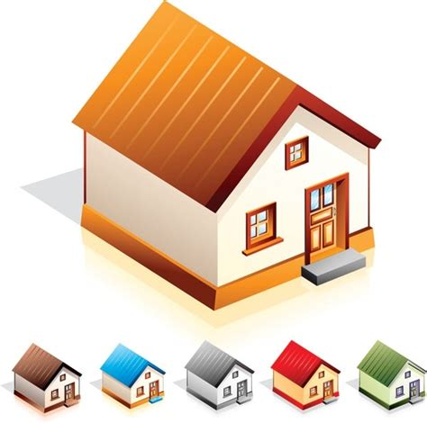 vector for free use 3d house icon house free vector download 1 708 free vector for
