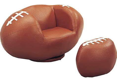 kids football chair and ottoman sport football chair and ottoman seating