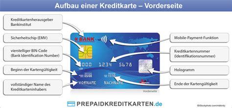 kreditkarten nummer visa kennzeichen und ausstattungsmerkmale einer prepaid kreditkarte