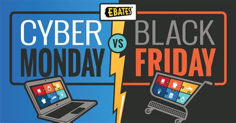 cyber monday black friday vs cyber monday statistics shopping tips