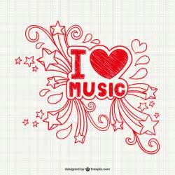 Love music vector vector free download