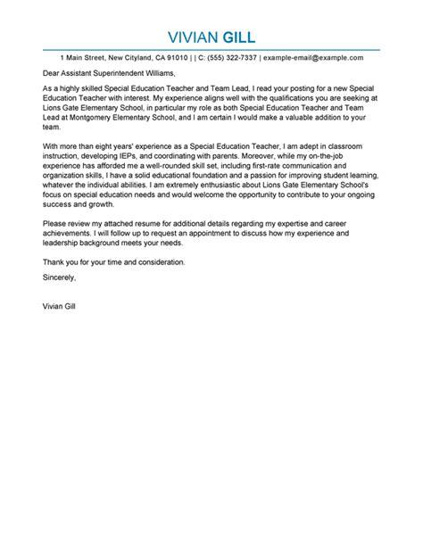 cover letter for team leader position exles best team lead cover letter exles livecareer