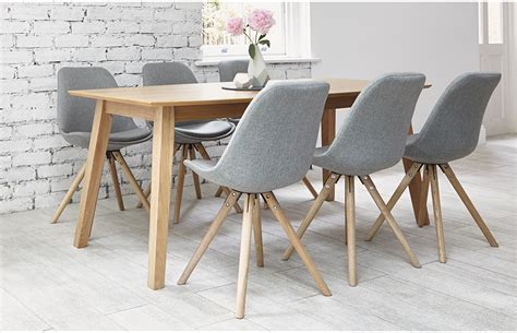 6 Seater Dining Sets Grey Home Furniture Out Out Dining Table For 6 Contemporary