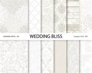 wedding digital paper white wedding digital paper lace