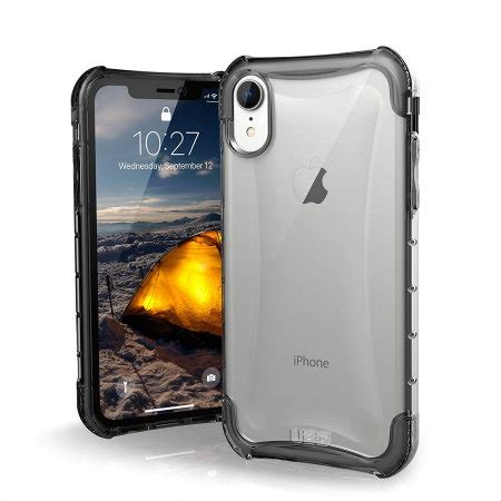 uag plyo iphone xr tough protective case ice